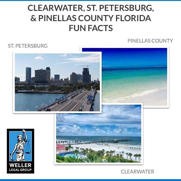 Clearwater, St. Petersburg, & Pinellas County Florida Fun Facts
