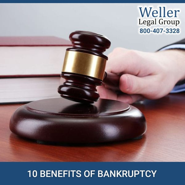 10 Benefits of Bankruptcy