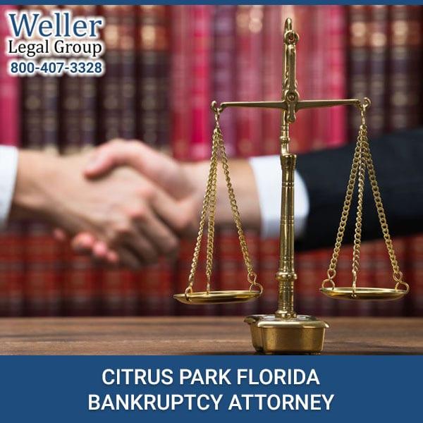 BANKRUPTCY ATTORNEY CITRUS PARK FLORIDA