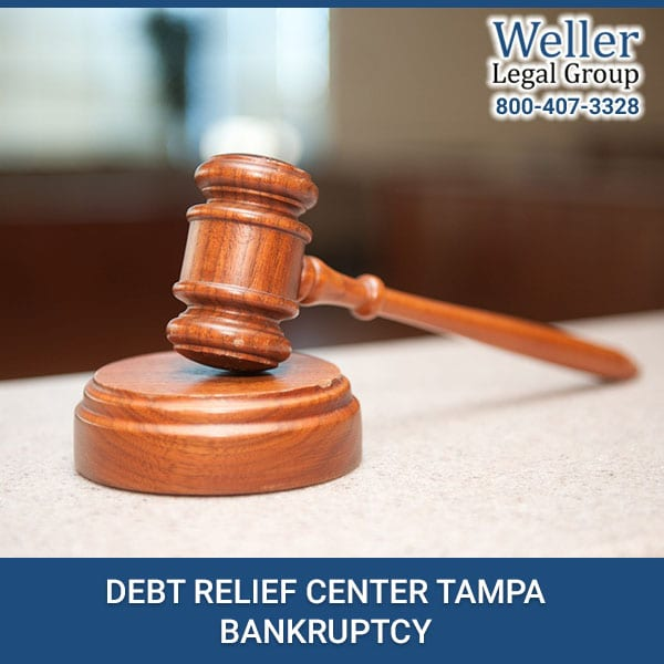 DEBT RELIEF CENTER TAMPA BANKRUPTCY