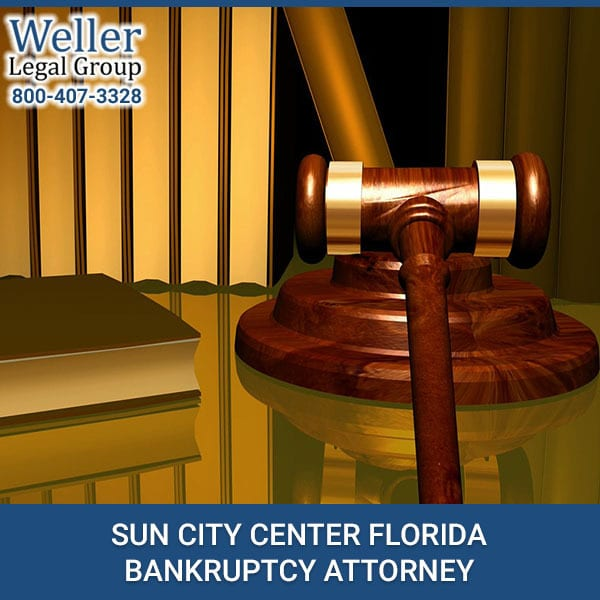 SUN CITY CENTER FLORIDA BANKRUPTCY ATTORNEY