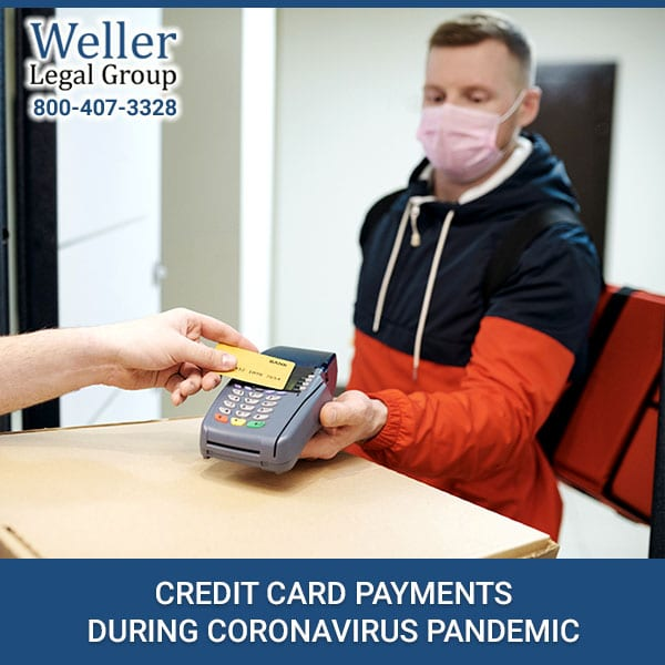 Credit Card Payments During Coronavirus Pandemic