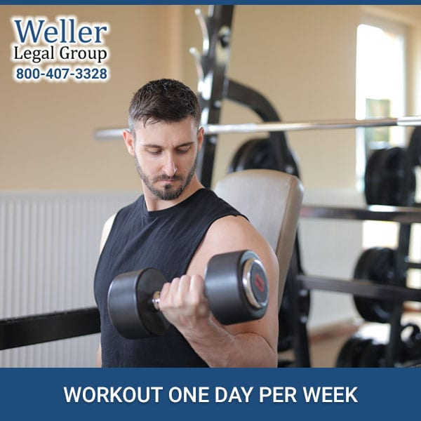 WORKOUT ONE DAY PER WEEK