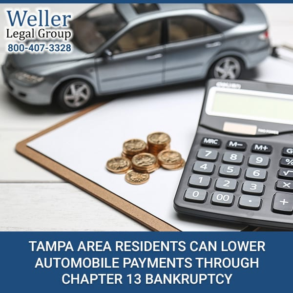 Tampa Area Residents Can Lower Automobile Payments Through Chapter 13 Bankruptcy