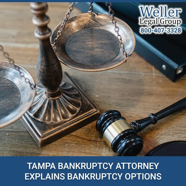 Tampa Bankruptcy Attorney Explains Bankruptcy Options