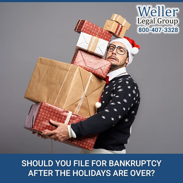 Should You File For Bankruptcy After The Holidays Are Over?
