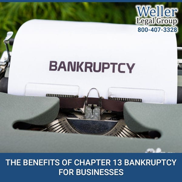 The Benefits Of Chapter 13 Bankruptcy For Businesses