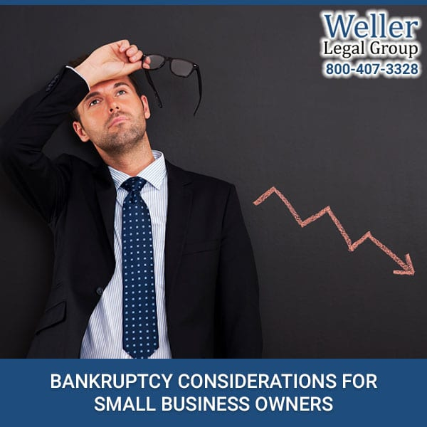 Bankruptcy Considerations For Small Business Owners