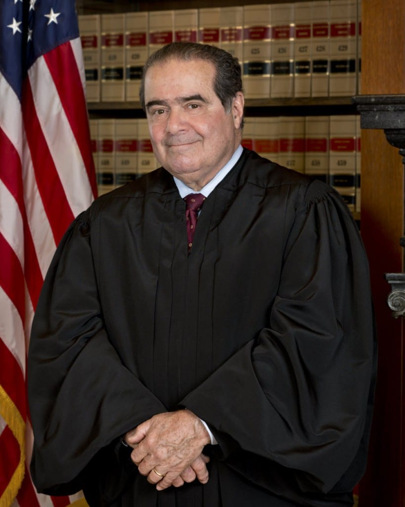 DEATH OF ANTONIN SCALIA