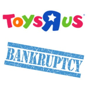 Toys R Us voluntarily filed for Chapter 11 of the Bankruptcy