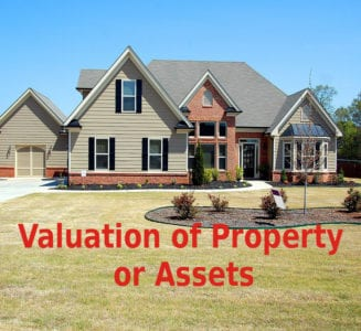 Valuation of assets in bankruptcy